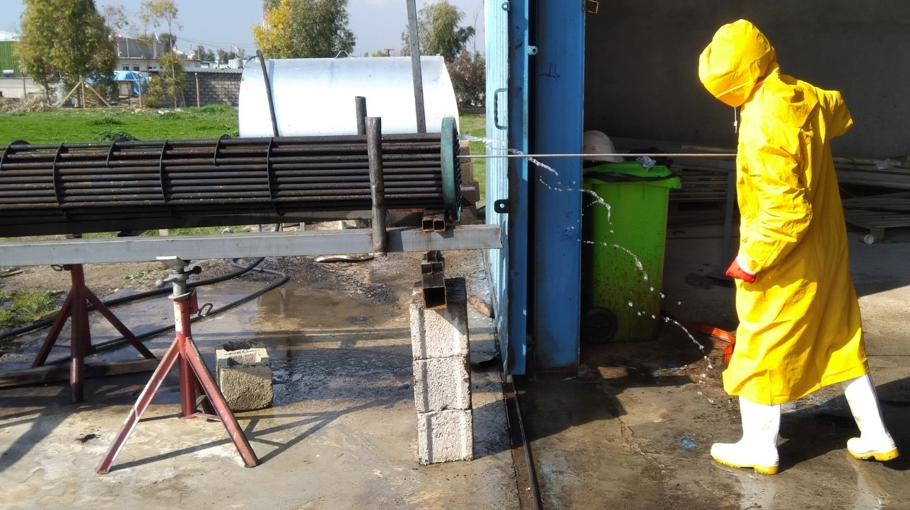 Heat Exchanger Cleaning and Hydrotesting